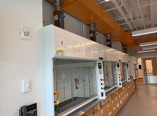 Providence College Chemistry Lab